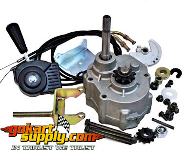 Go Kart Transmission | Go Kart Forward Reverse Gear Box