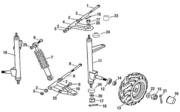 3171 Front Suspension