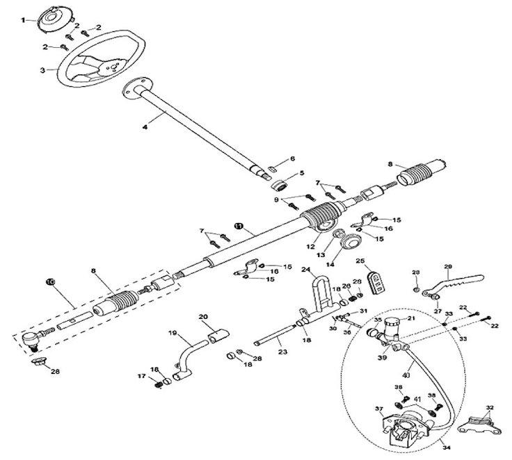 American Sportworks 3171 Black Widow Go Kart Parts | Model 3171 Parts
