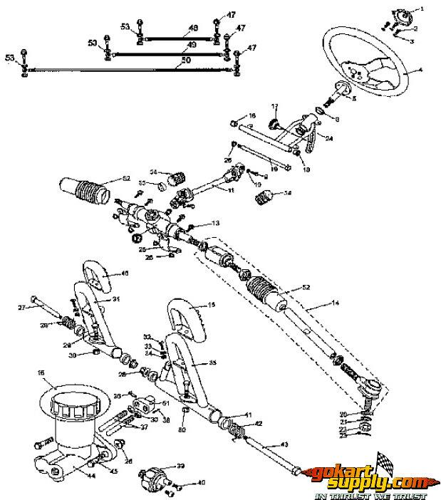 American Sportworks 7150 Go Kart Parts | 7150 Quantum | 7150 Carbide