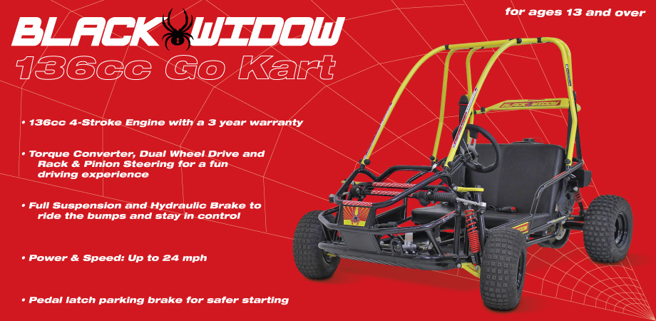 Black Widow Go Kart