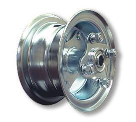 Go Kart Rims And Mini Bike Rims Steel Wheels With Hubs